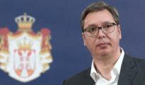 Aleksandar Vucic szerb államfő