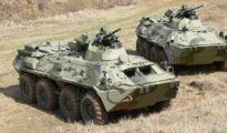 BTR-82A típusú páncélozott szállító harcjárművek