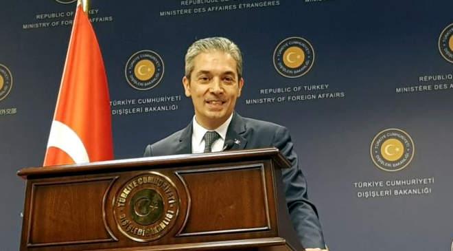 Hami Aksoy török külügyi szóvivő