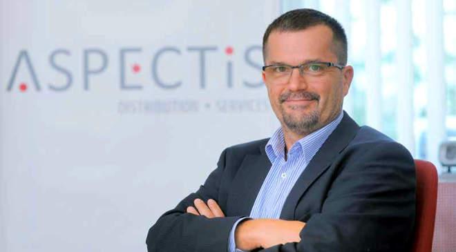 Laczkó Gábor, az Aspectis Kft. ügyvezető igazgatója