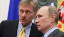 Peszkov és Putyin