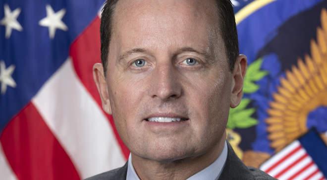 Richard Grenell, az amerikai hírszerző szervezeteket összefogó Országos Hírszerzési Igazgatóság (DNI) leköszönő ügyvezető igazgatója