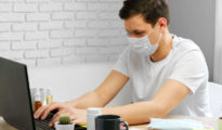 munkavédelem laptop szájmaszk