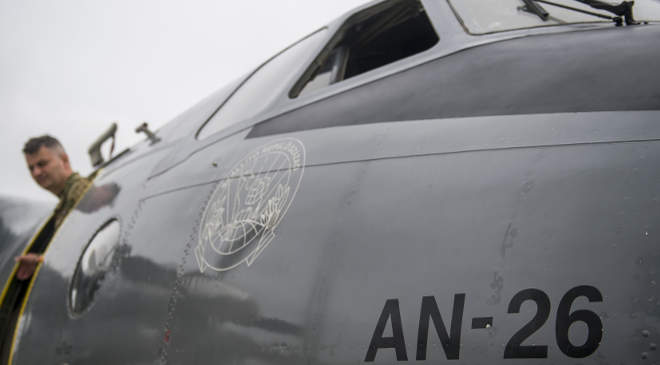 AN-26 repülő