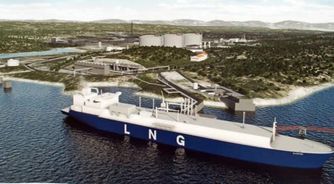 Krk LNG visszagázosító terminál