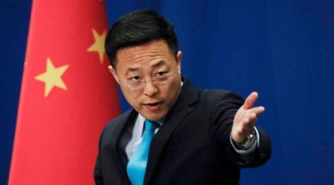 Csao Li-csien kínai külügyi szóvivő