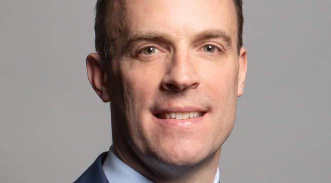 Dominic Raab küllügyminiszter