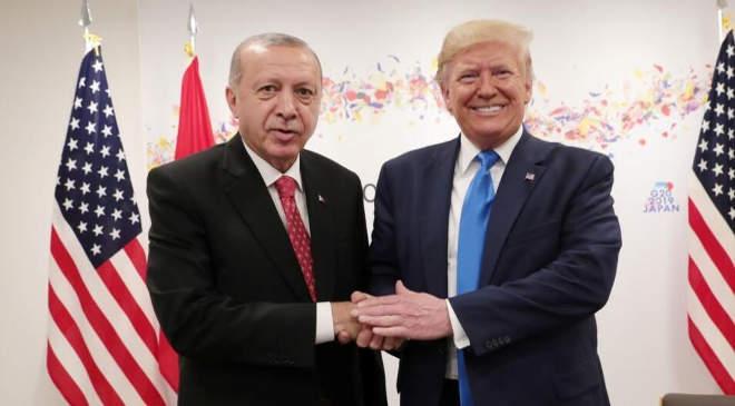 Recep Tayyip Erdogan és Donald Trump