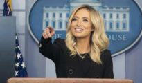 Kayleigh McEnany a Fehér Ház szóvivője