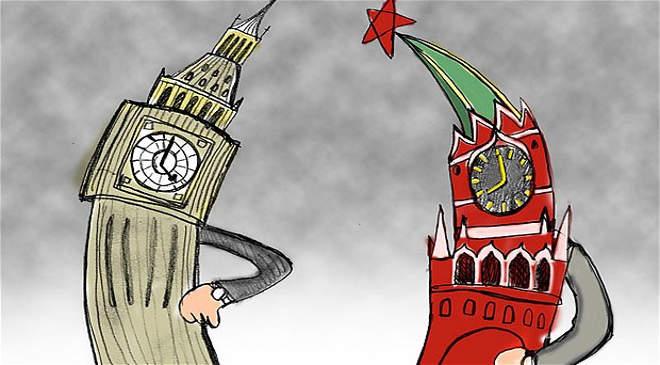 London vs. Moszkva
