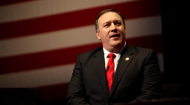Mike Pompeo, az USA külügyminisztere