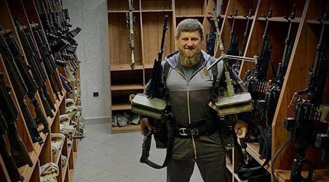 Ramzan Kadirov csecsen vezető