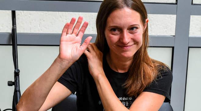 Szvetlana Prokopjeva orosz újságíró