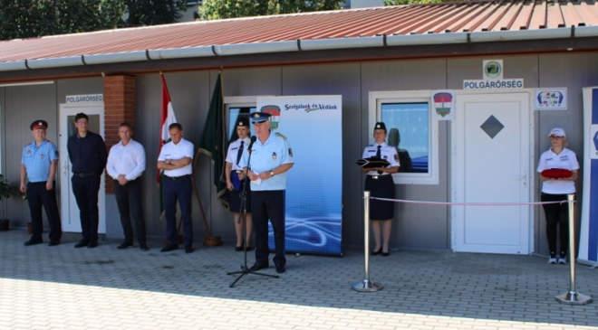 Új központba költözhettek a Csongrád-Csanád megyei polgárőrö