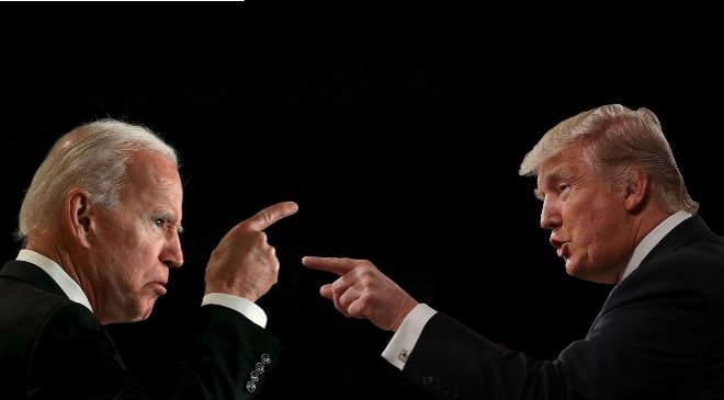 Biden és Trump