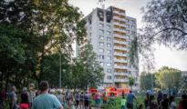 Bohumín, lakástűz