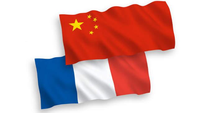 Kina, Franciaorszag zászló