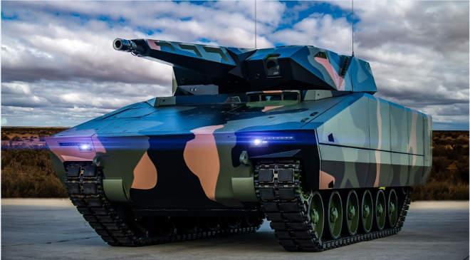Lynx KF41 gyalogsági harckocsi