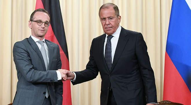 Maas és Lavrov