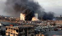 Bejrút, robbanás