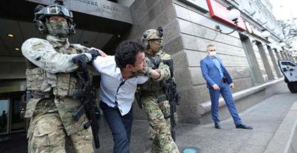 Ukrajna, túszejtés