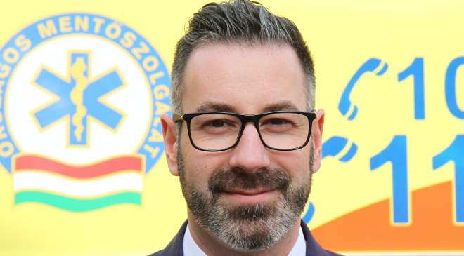 Csató Gábor, az Országos Mentőszolgálat (OMSZ) főigazgatója
