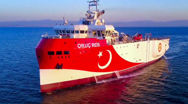 Oruc Reis, török kutatóhajó