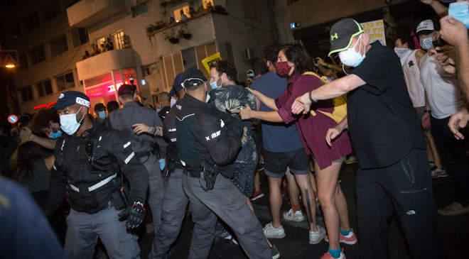 Izrael, tüntetés