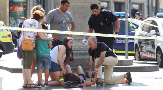 Barcelona, terror