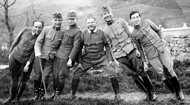 magyar katonák I. világháború