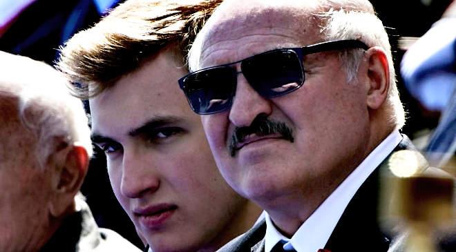 Lukasenka és a kis Lukasenka