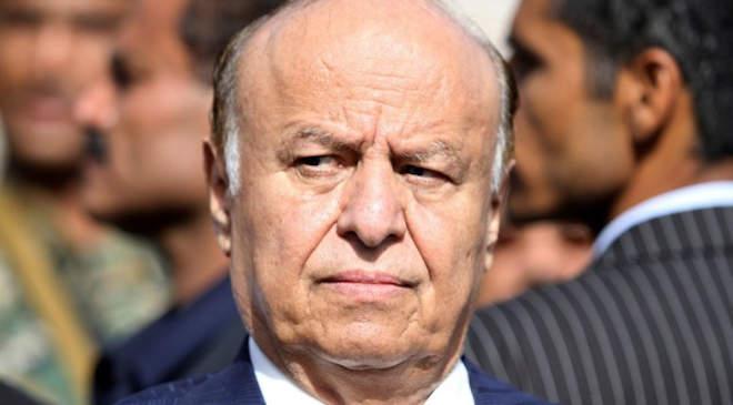 Abed Rabbó Manszúr Hádi jemeni elnök