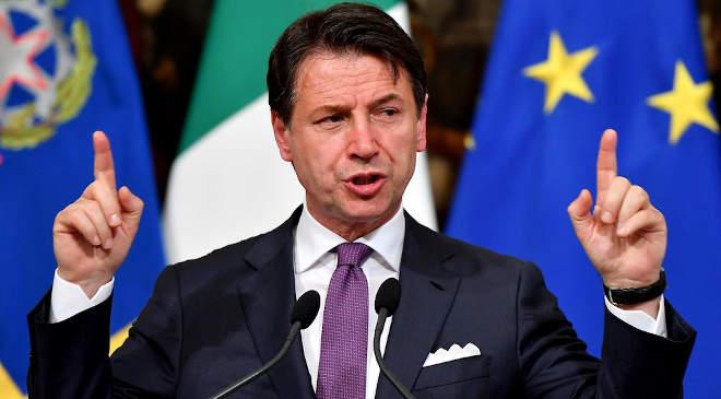 Giuseppe Conte olasz miniszterelnök