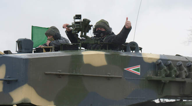 Leopard 2A4 harckocsi