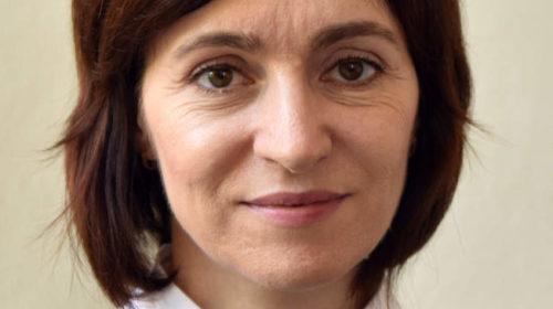 Maia Sandu, moldova elnöke