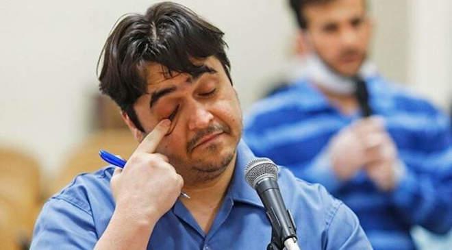 Ruhollah Zam iráni ellenzéki újságíró