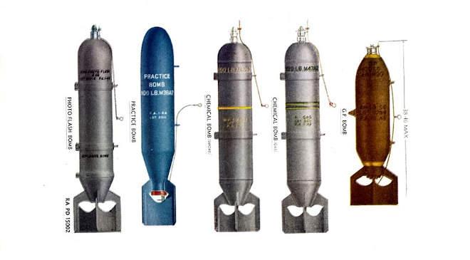 II. vh. amerikai bombák