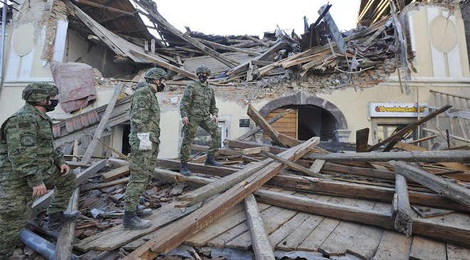 Földrengés Horvátországban