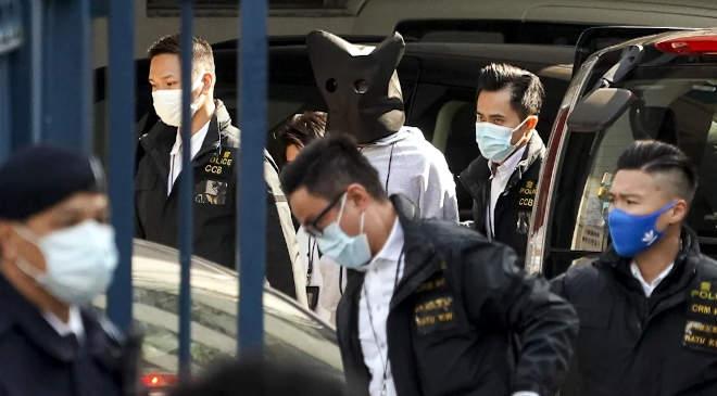 Hong-Kong, letartóztatás