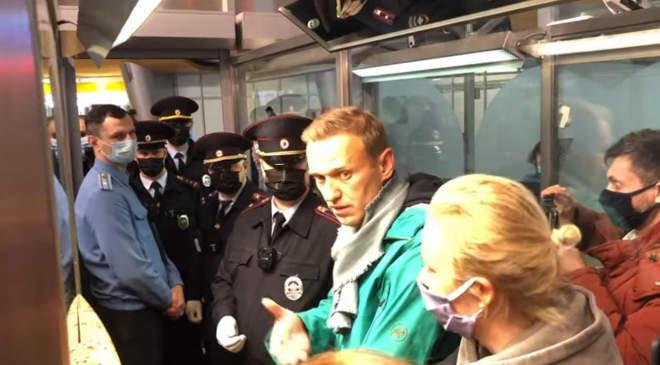 Navalnij letartóztatása