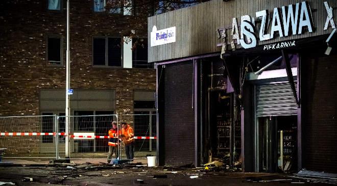 Tilburg, robbantás