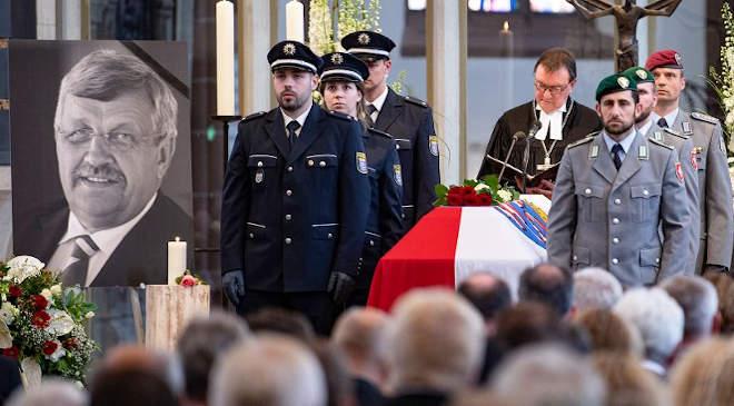 Walter Lübcke temetése