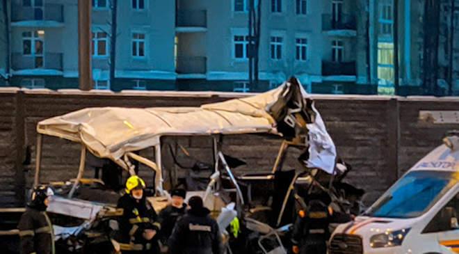 orosz katonai konvoj balesete