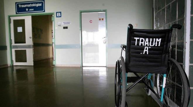 Kórház, trauma osztály