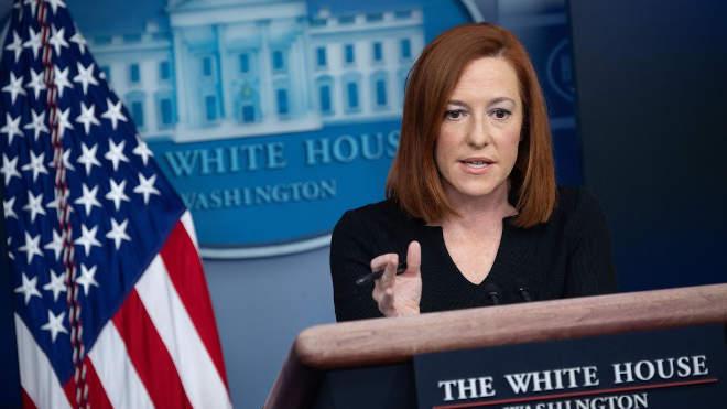Jen Psaki, a Fehér-ház szóvivője