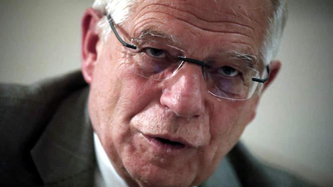 Josep Borrell, az Európai Unió kül- és biztonságpolitikai főképviselője