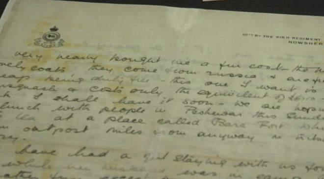 SS Gairsoppa, levél