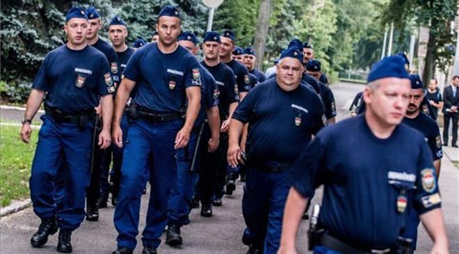 rendőrkontingens