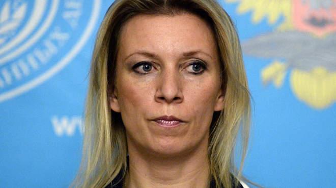 Marija Zaharova orosz külügyi szóvivő