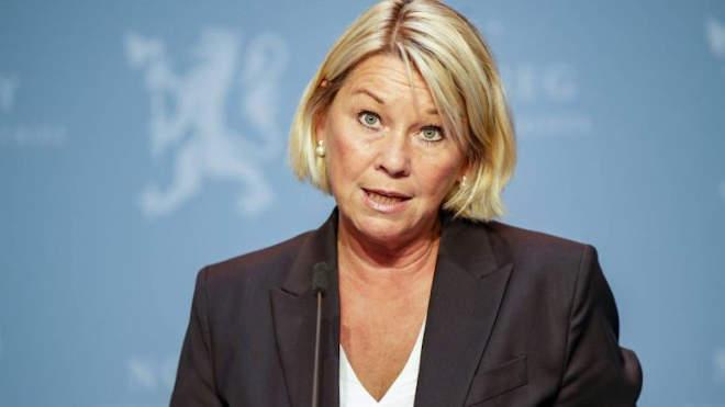 Monica Maeland Norvég igazságügyi miniszter